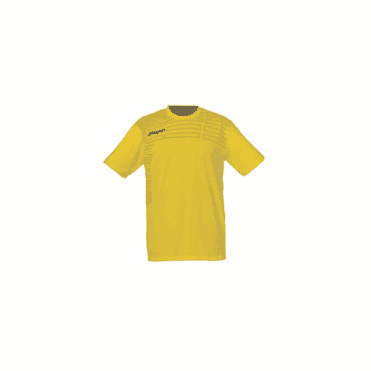Uhlsport Match Training T-Shirt Lime Yellow/Black