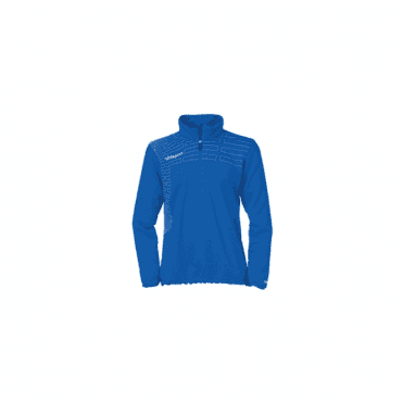 Match Women's 1/4 Zip Top Azure Blue/White