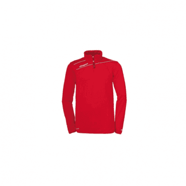 Stream 3.0 1/4 Zip Top Red/White