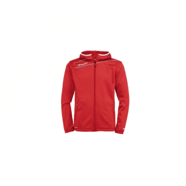 Uhlsport Stream 3.0 Hooded Jacket Red/White