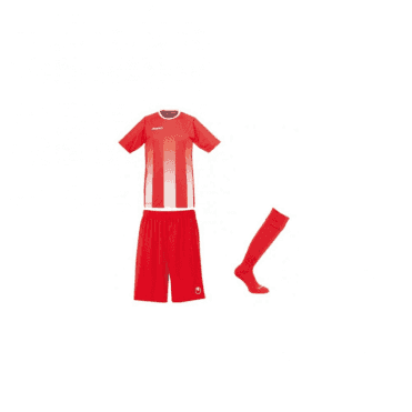 Uhlsport Stripe SS Jersey Red/White
