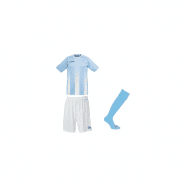 Uhlsport Stripe SS Jersey Sky/White