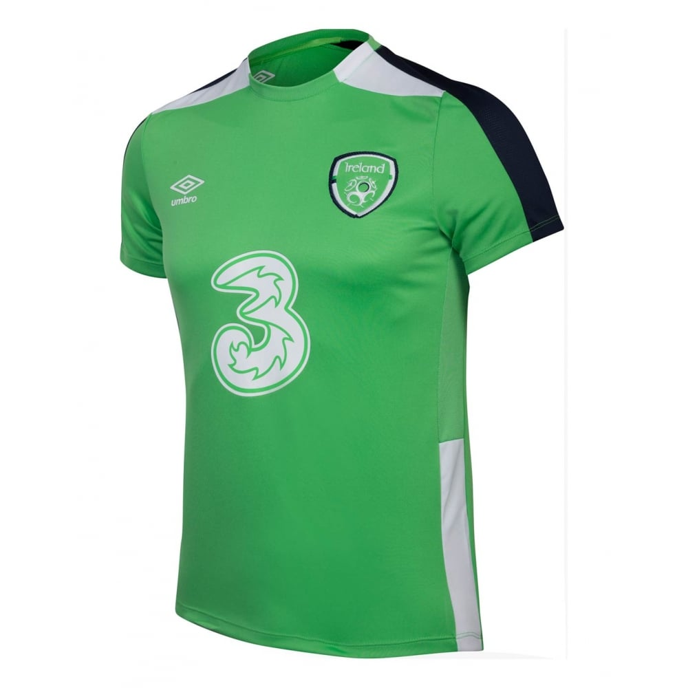 huge discount b05c9 ba1b5 Umbro IRELAND TRAINING JERSEY 2016