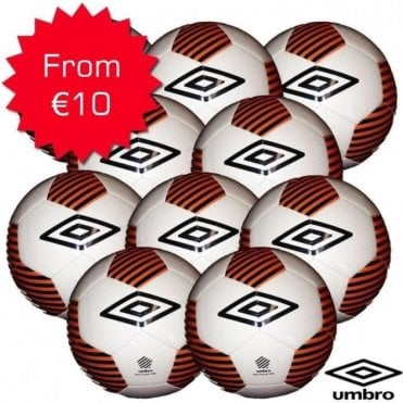 NEO TRAINER WEIGHTED FOOTBALLS 290GRAM (U6-U8YRS) WHITE/ORANGE