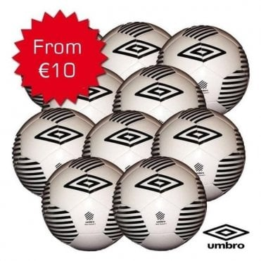 NEO TRAINER WEIGHTED FOOTBALLS 370GRAM (U12 - U14) WHITE/BLACK