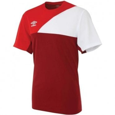 TRAINING JERSEY SS Red and White