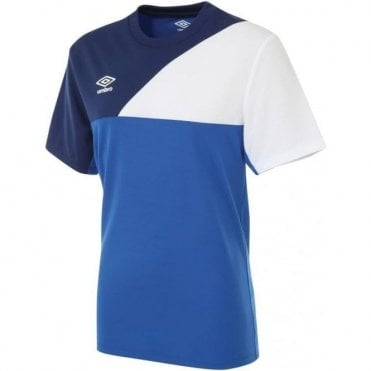 TRAINING JERSEY SS Royal Blue and White