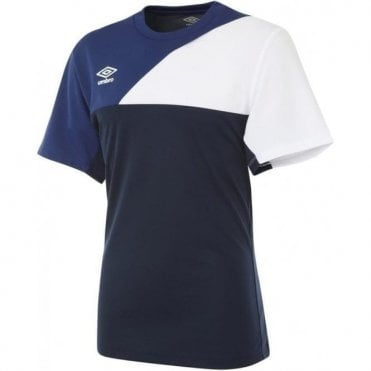 TRAINING JERSEY SS White and Blue