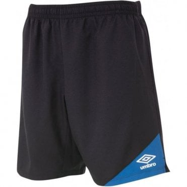 TRAINING SHORTS Black and Blue