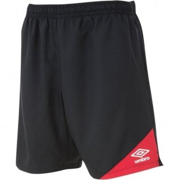 TRAINING SHORTS Black and Red