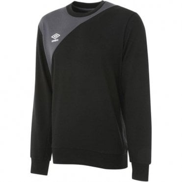 TRAINING SWEAT Top Black and Grey