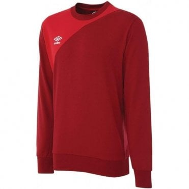 TRAINING SWEAT TOP RED