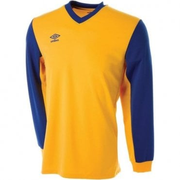 WITTON JERSEY LS Yellow and Blue