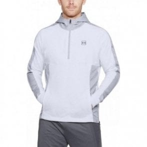 Men's Microthread Terry Hoodie White