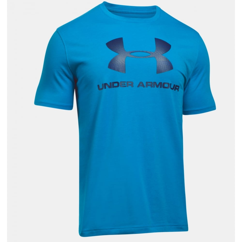 Underarmor sportstyle logo mens t shirts for Under armour men s shirts clearance