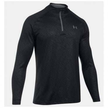 Men's Tech Embossed ¼ Zip