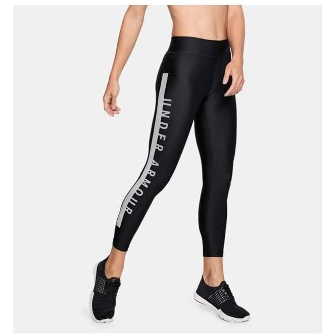 Under Armour Women's HeatGear Armour Cropped Tight Black