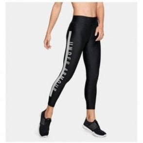 Women's HeatGear Armour Cropped Tight Black