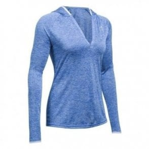 Women's Long Sleeve Hooded Henley