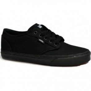 ATWOOD CANVAS SHOE BLACK