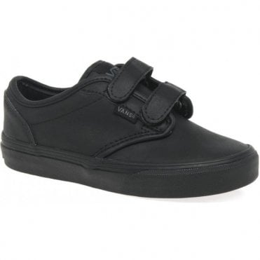 ATWOOD TRIPLE BLACK JNR SHOE