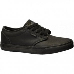 Atwood Triple Black Leather Shoe