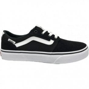 Kids Chapman Stripe Suede/Canvas Black
