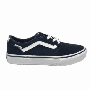 Kids Chapman Stripe Suede/Canvas Navy