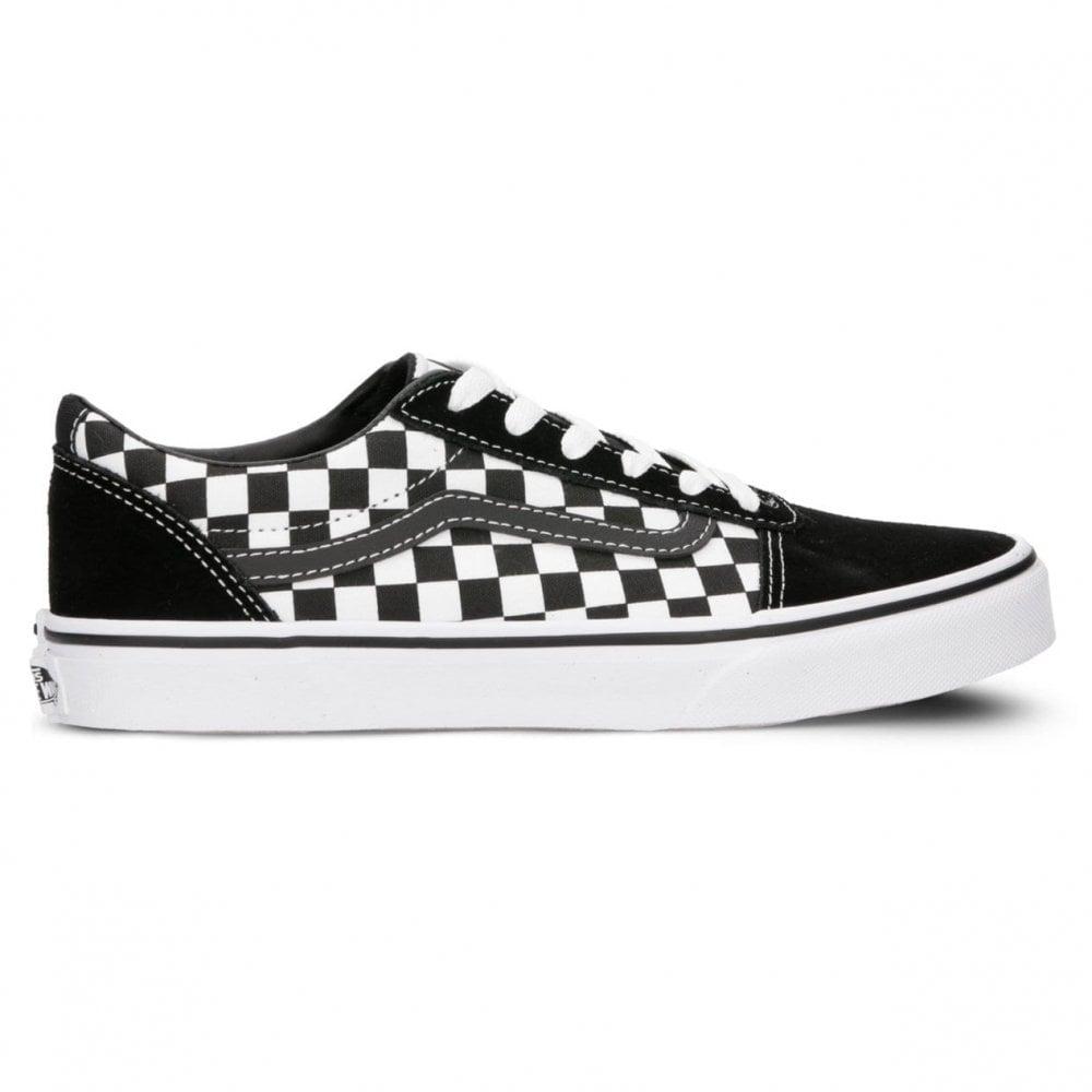 Vans Kids Ward Checkerboard Black/White
