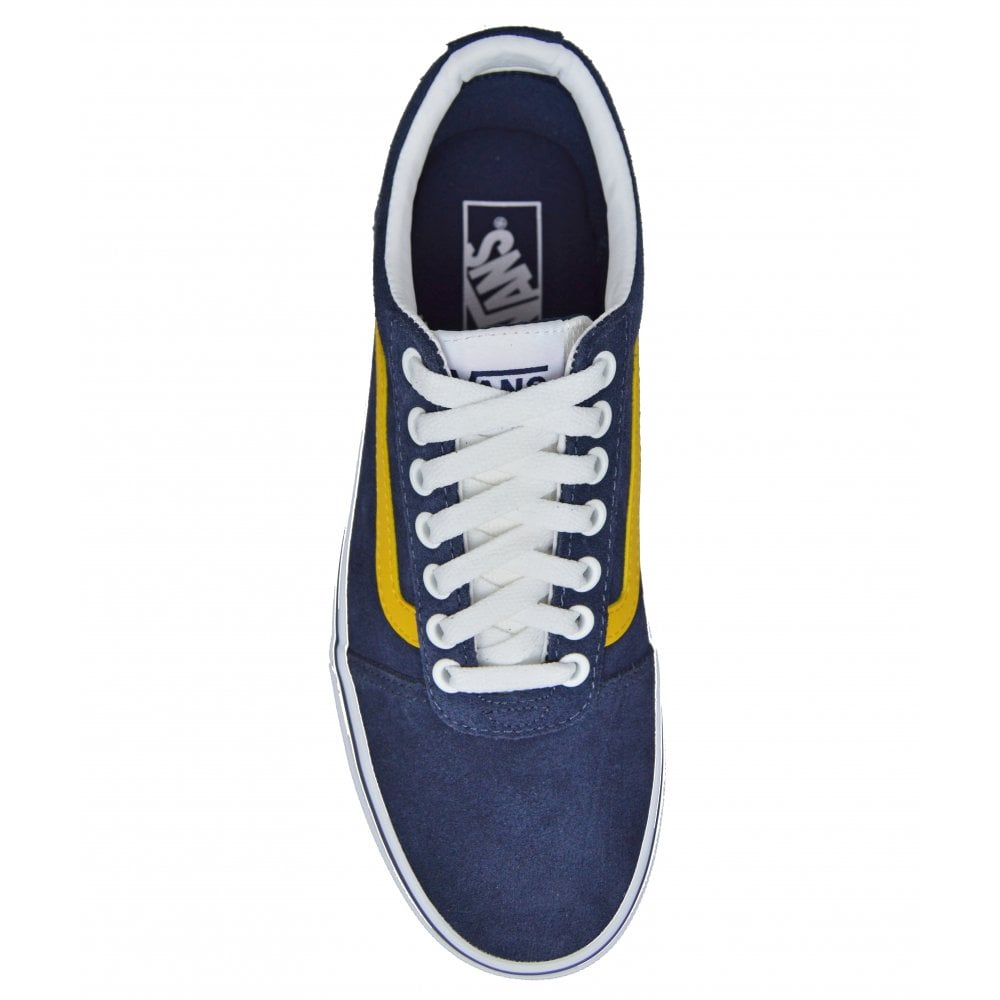 Vans Men's Ward Navy/Yellow | BMC Sports