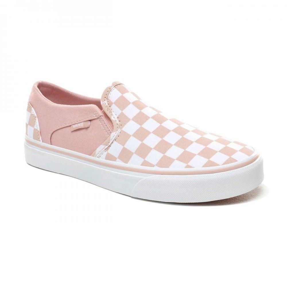 Vans Women's Asher Slip-On Checkerboard