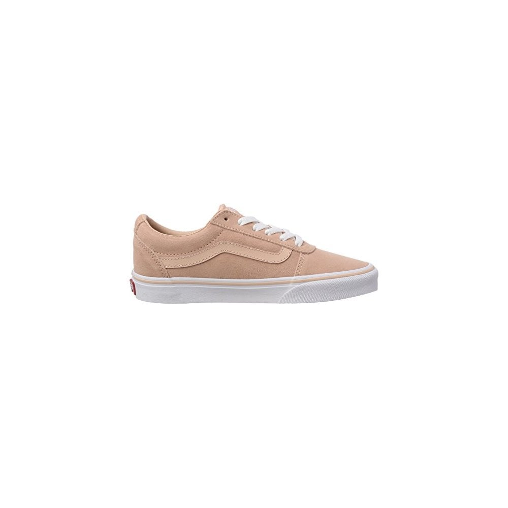 womens grey and pink vans