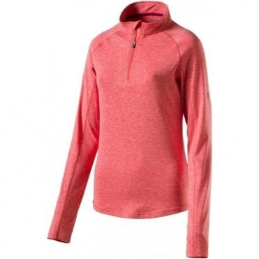 Women's Cusca Quarter Zip Orange