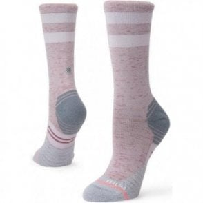Women's Distance Crew Running Sock Grey