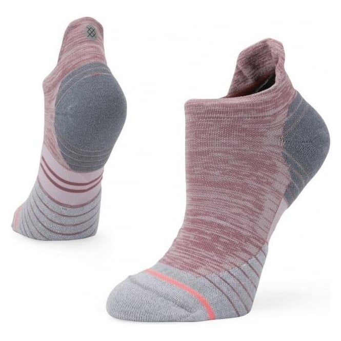 Stance Women's Distance Tab Running Sock Grey