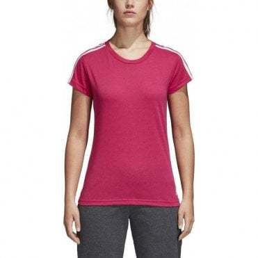 Women's Essentials 3 Stripe Slim Tee