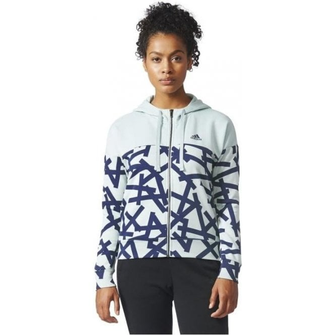 Adidas Womens Essentials Graphic Hoody