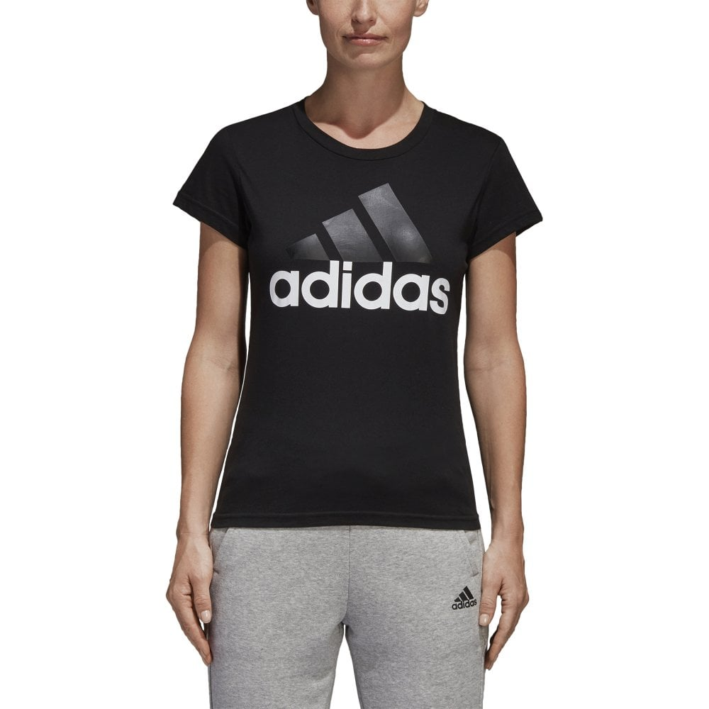 819481d1 adidas Women's Essentials Linear Slim Tee | BMC Sports