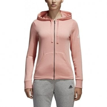 Women's Essentials Solid Full Zip Hoodie