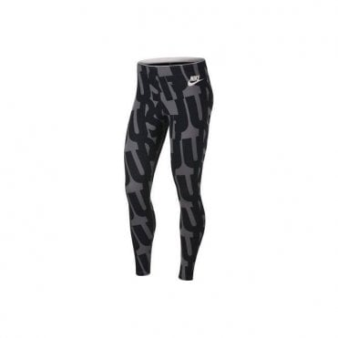 Womens Print Just Do It Leggings