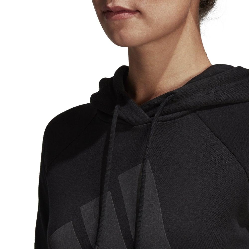Adidas Women's Sports ID Overhead Hoodie Black