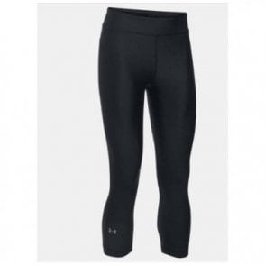 Women's UA HeatGear® Armour Capri Black