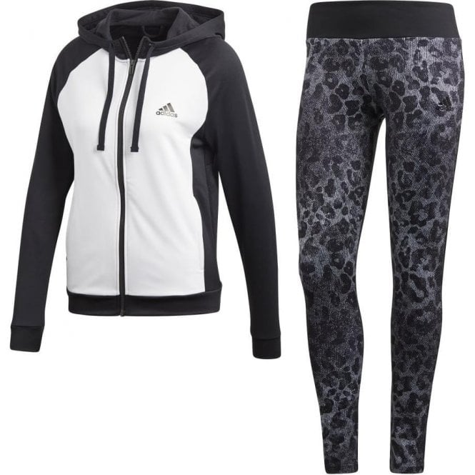 Adidas Womens WTS Hoody & Tight Set